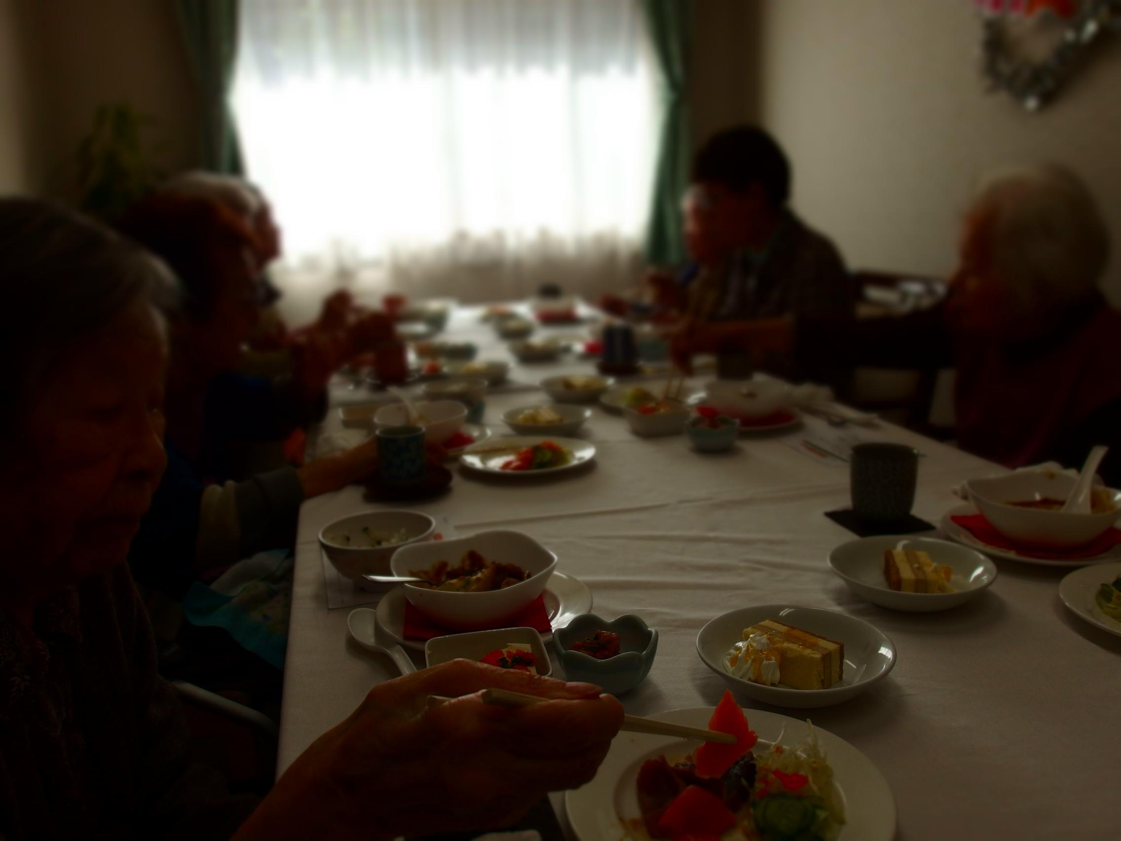 誕生日会のパーティー料理