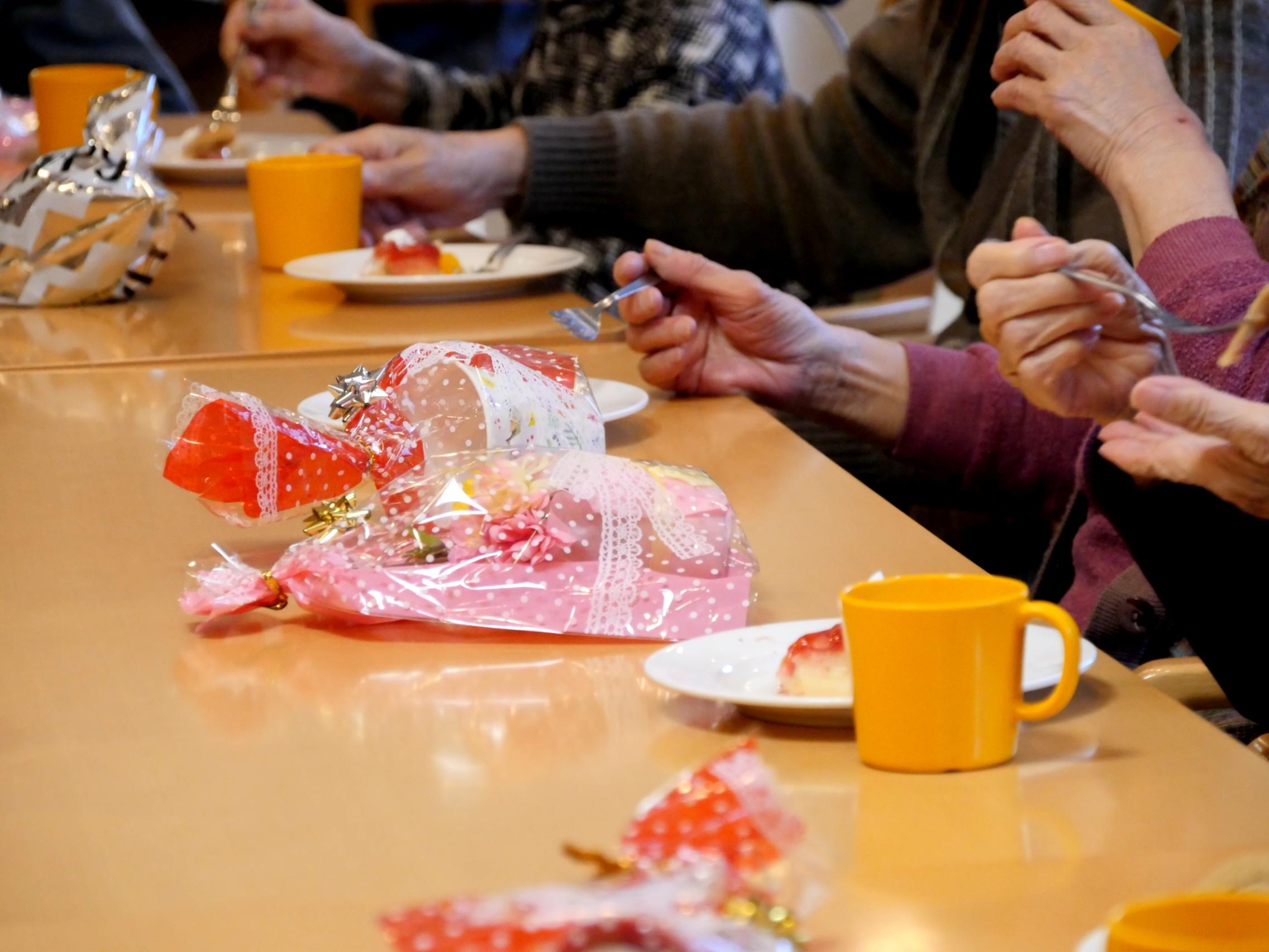 クリマスケーキとプレゼント